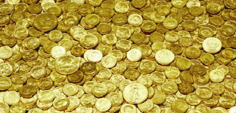Aranyat találtak Óföldeákon