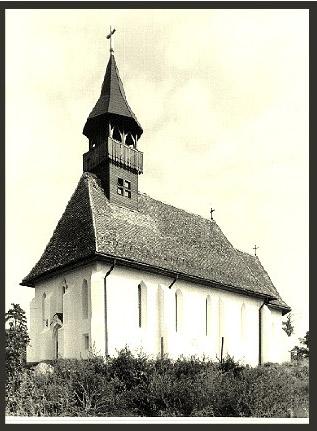 A helyreállított templom