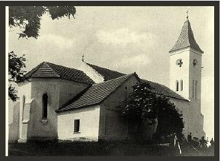 A helyreállított templom 1924-ben